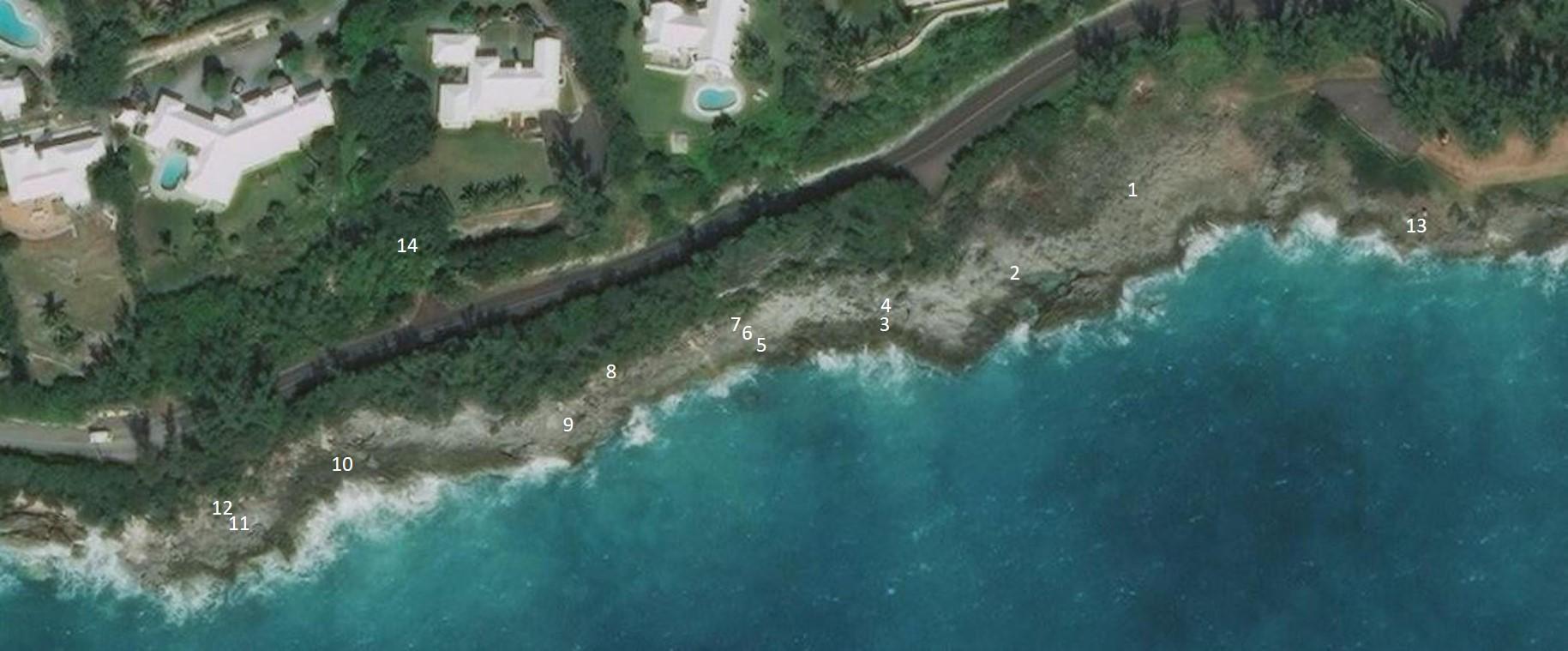 Location satellite image